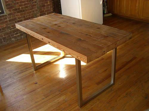 Comment faire une table ?