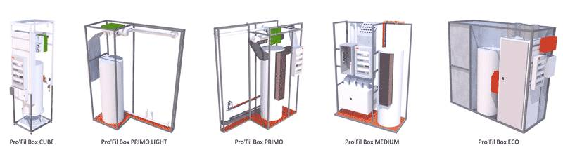 Pro'fil box, solution de raccordement